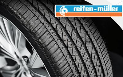 Verkauf und Montage von Reifen über Firma Reifen Müller