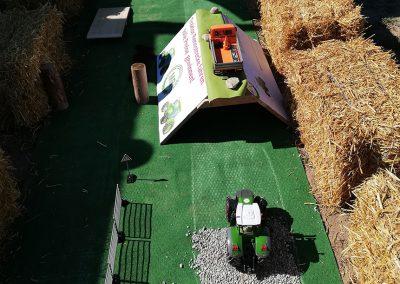 Traktor-Rennstrecke