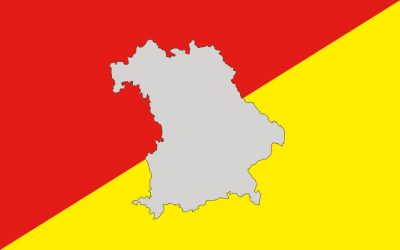 Rote und gelbe Gebiete