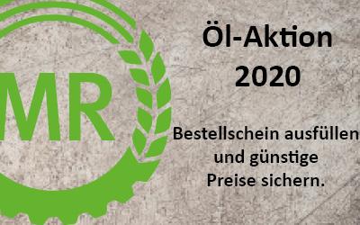 Öl-Aktion 2020