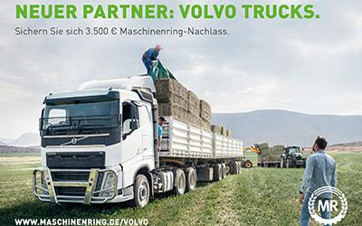 Erntelogistik mit Volvo Truck